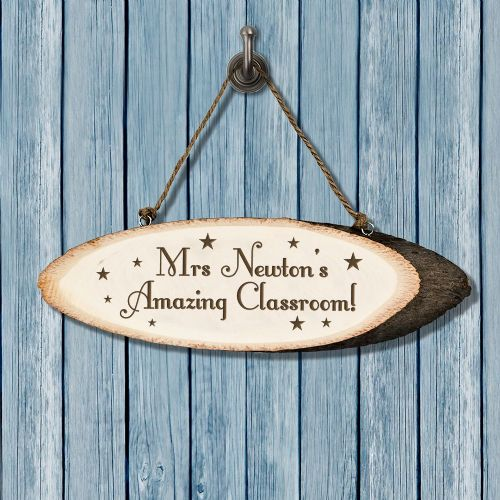 Personalised Super Star Teacher's Classroom Sign